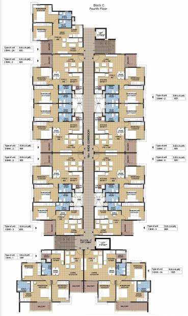 Images for Cluster Plan of Sipani Jardin