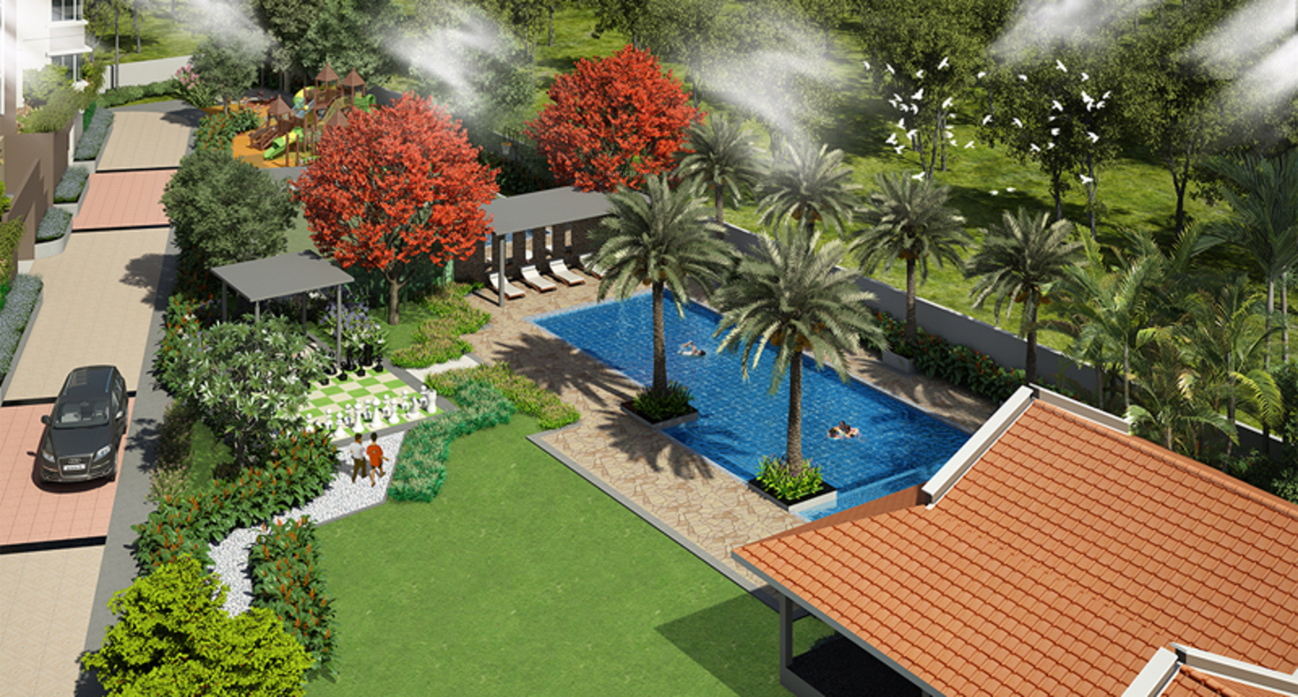 1325 sq ft 3 bhk 2t apartment for sale in sipani jardin for Jardin 80