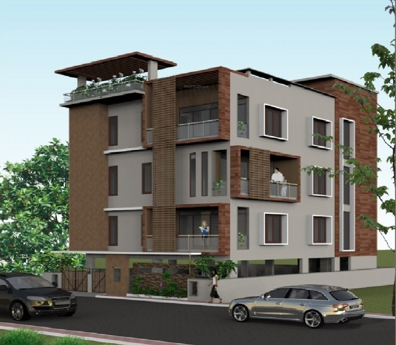 Aesthetic Apartment: 1800 Sq Ft 3 BHK 3T Apartment For Sale In Aesthetic