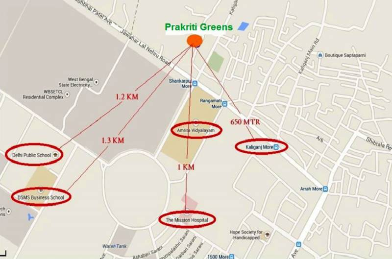 Images for Location Plan of Mondal Prakriti Greens