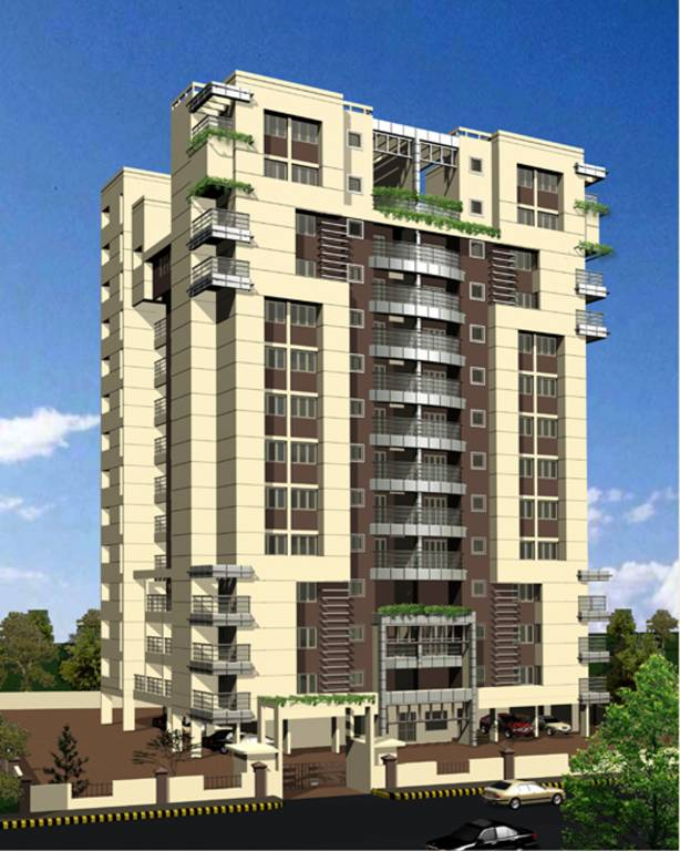 Wood Elevation Network : Bhk t apartment for sale in mohtisham complexes abode