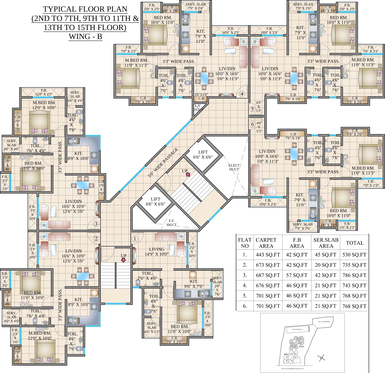 Habitat 67 floor plans thefloors co for Pics of plans