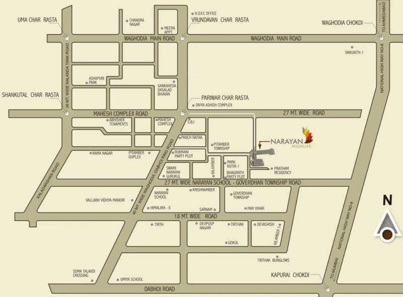 Images for Location Plan of Narayan Highlife