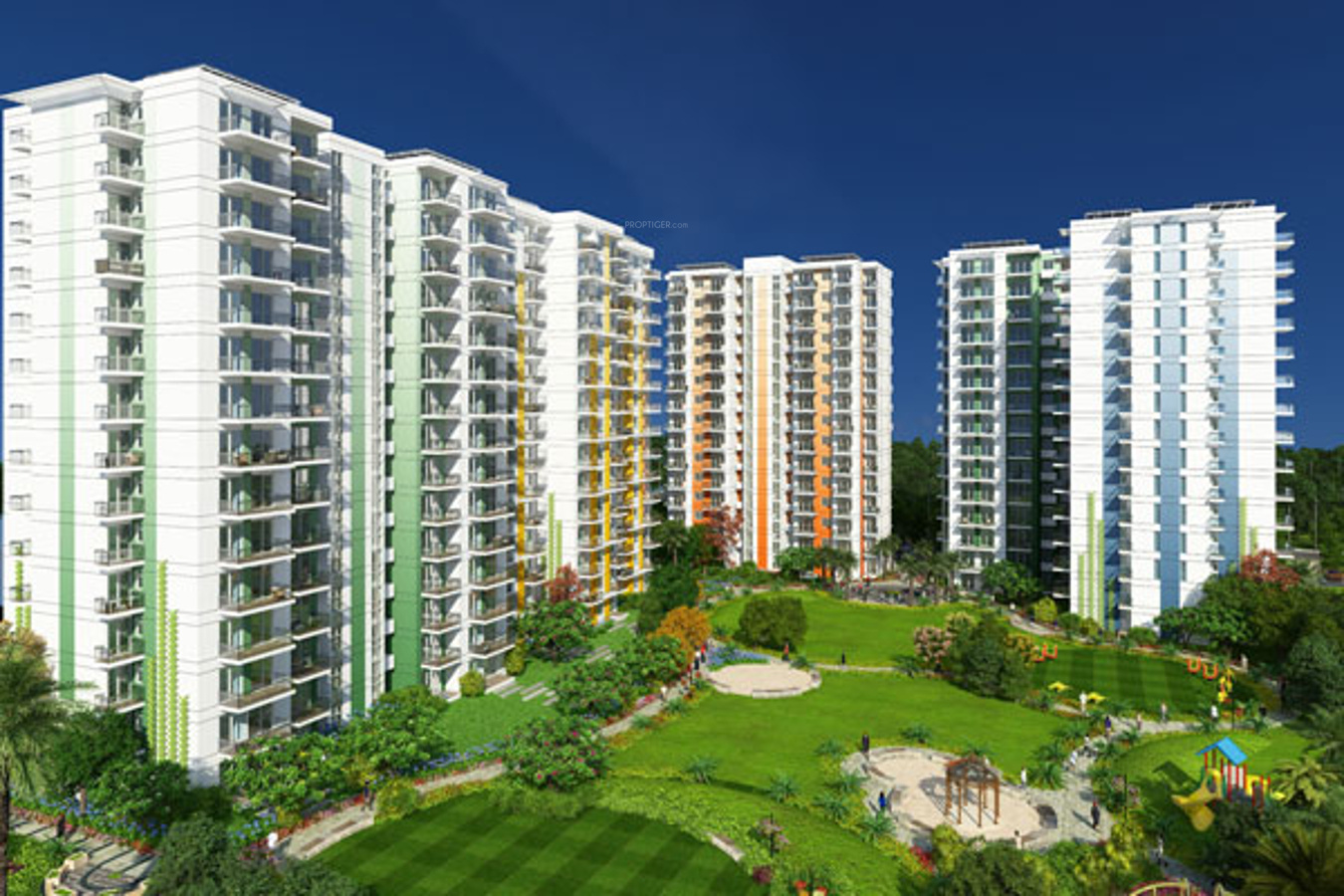 1290 sq ft 2 bhk 2t apartment for sale in hero realty hero for Best housing projects