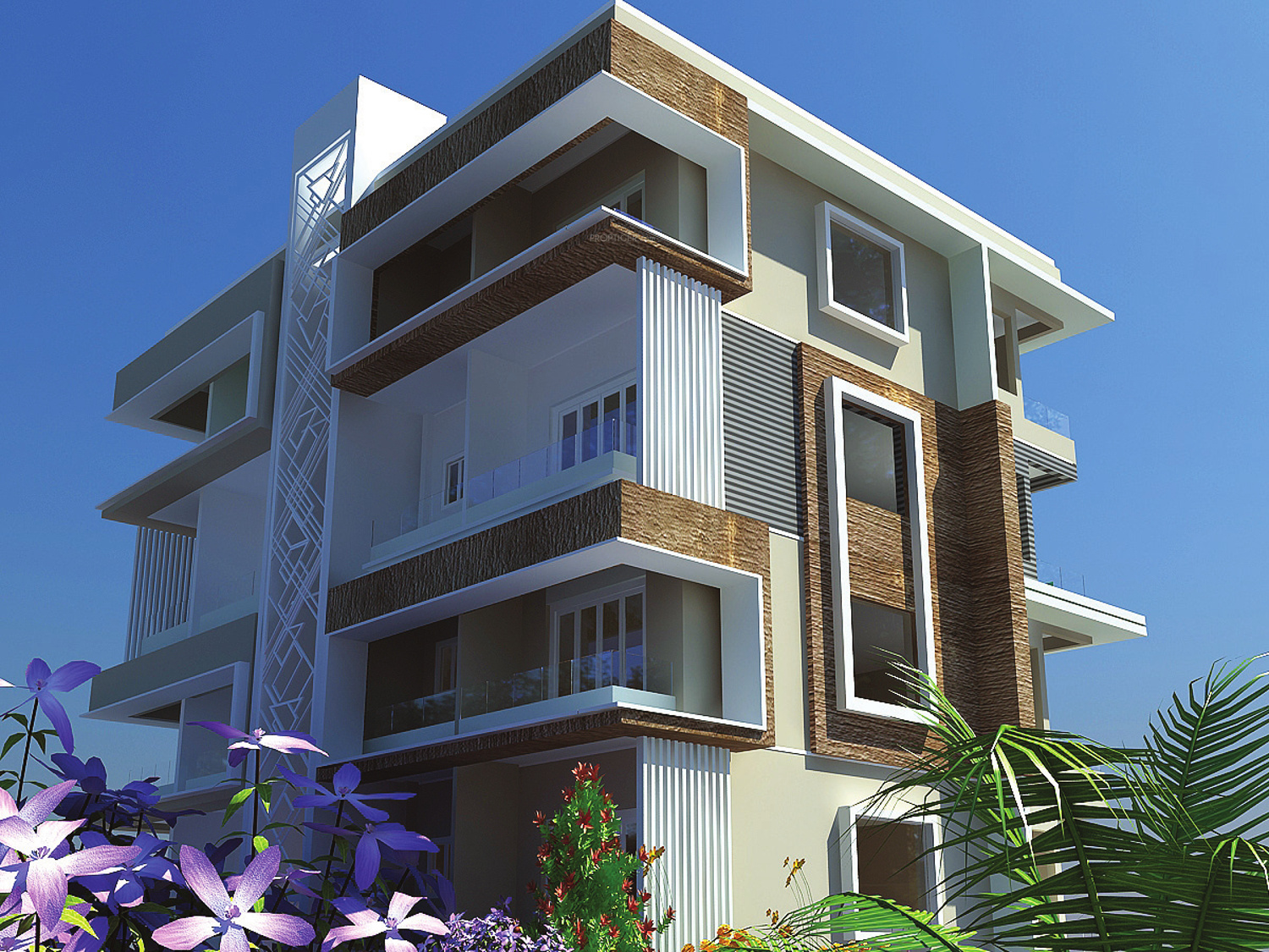 Elevation Stones Bangalore : Bhk cluster plan image sree reddy properties elite for
