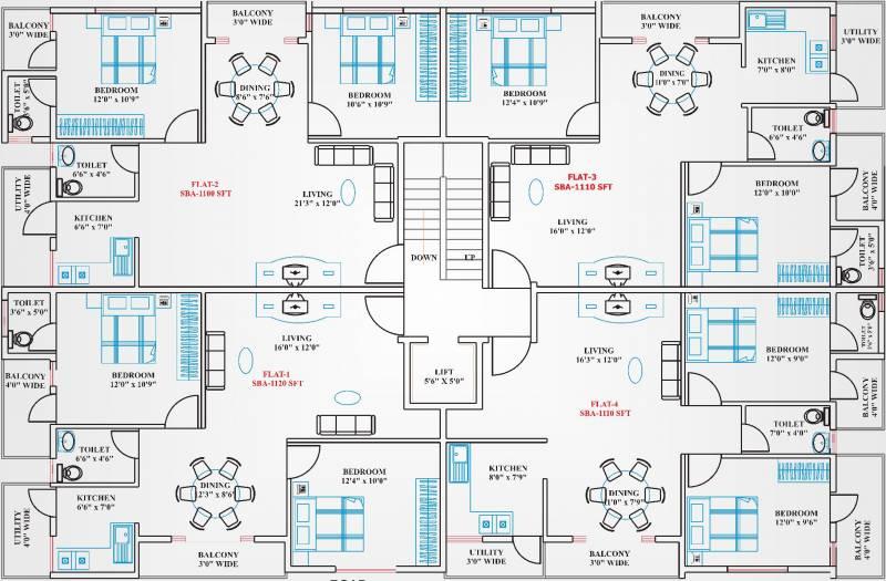 Images for Cluster Plan of Reddy Makkuntam