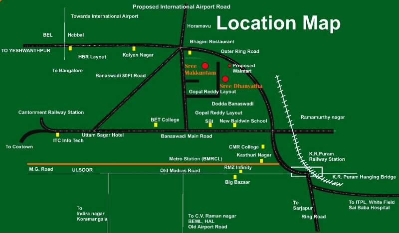 Images for Location Plan of Reddy Makkuntam