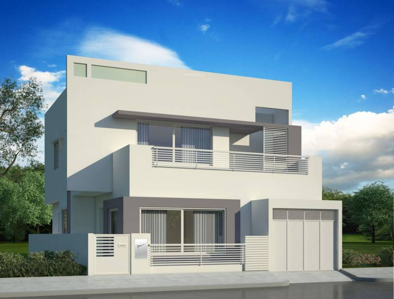Images for Elevation of Nanda Prakruthi Villas
