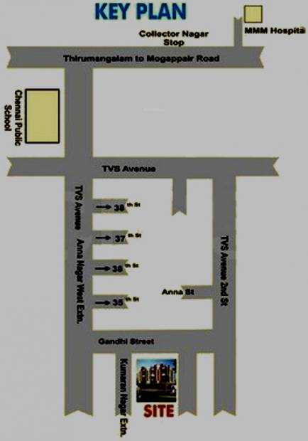 Images for Location Plan of ASR Sneham Homes
