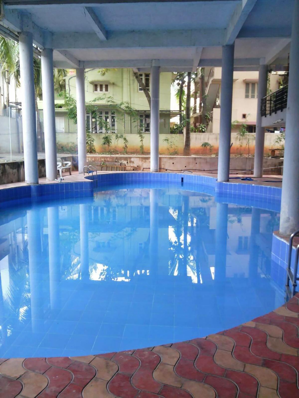 1000 sq ft 2 bhk 2t apartment for sale in pyramid developers green woods sahakar nagar bangalore for Swimming pool near sahakar nagar bangalore