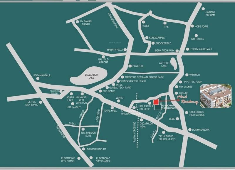 Images for Location Plan of Akul Residency