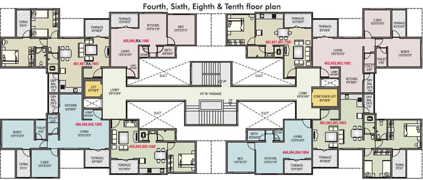Rk Complex In Alandi Pune Price Location Map Floor