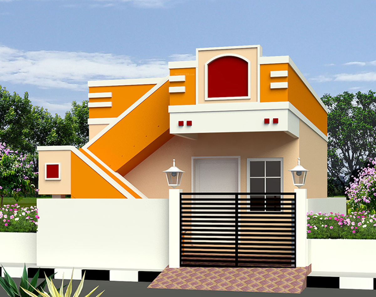 Nellai enatiya in poonamallee chennai price location for Independent house front elevation photos