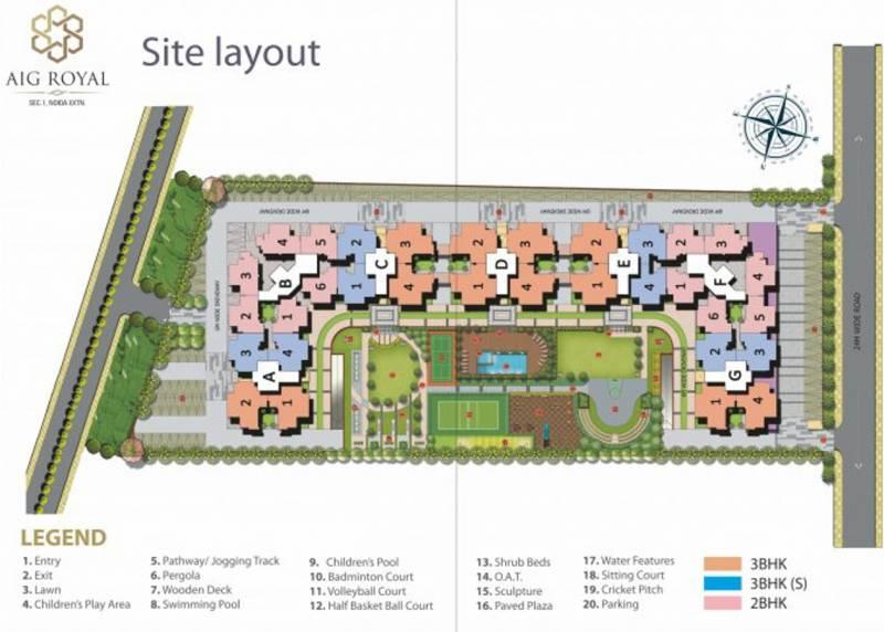 aigin-royal Images for Layout Plan of AIG Royal