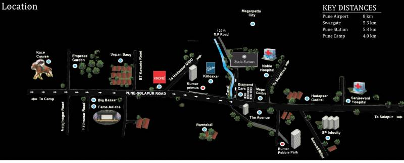 Images for Location Plan of Arihant Suda Suman