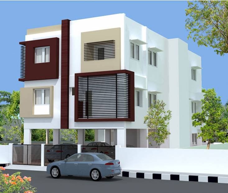 Images for Elevation of KK Shanti Apartment