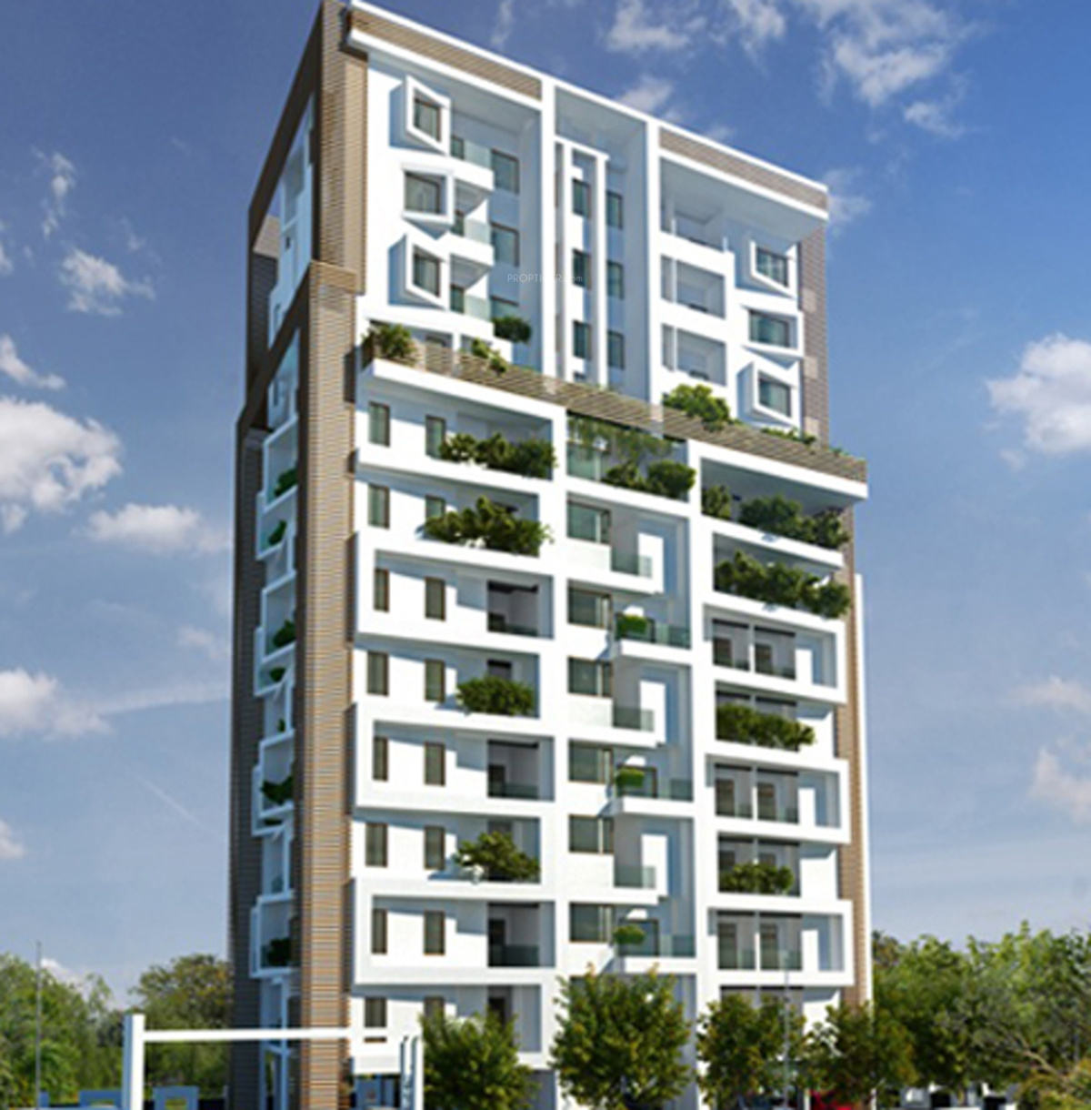 Elevation Woodwork : Sq ft bhk t apartment for sale in melon wood