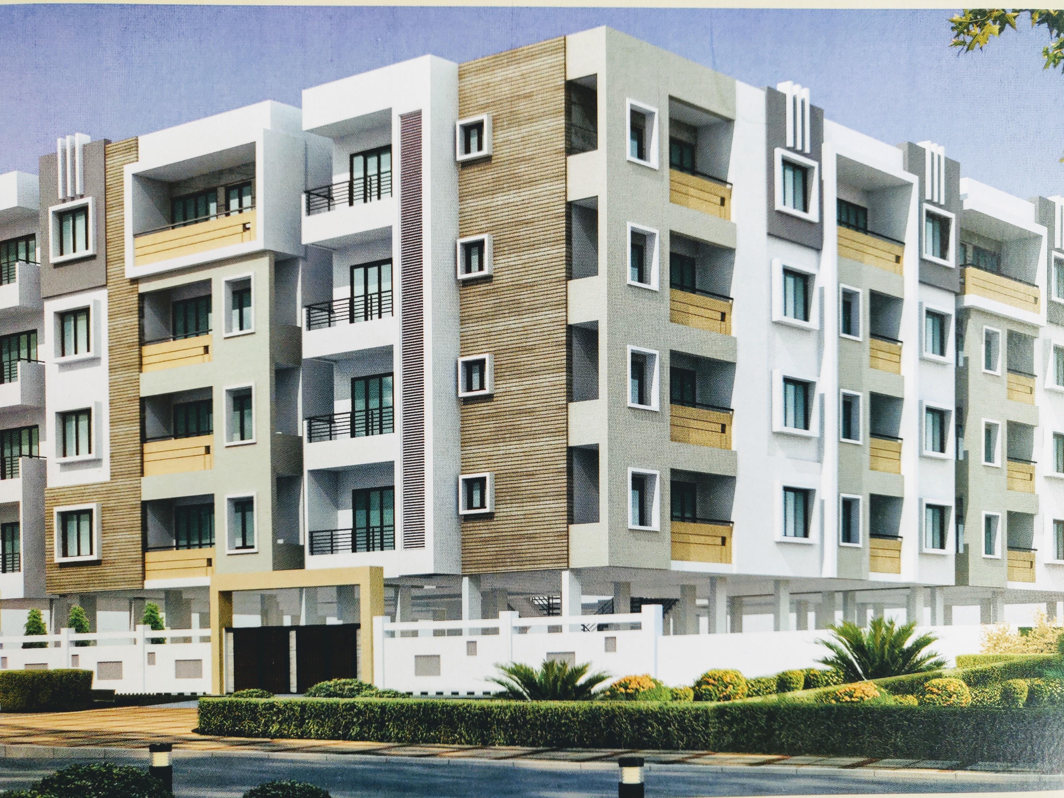 Pearl Metropolitan Apartment in Frazer Town, Bangalore ...
