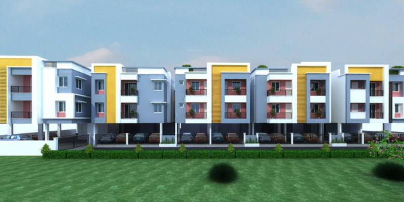 Images for Elevation of Priya Sun Shine Apartment