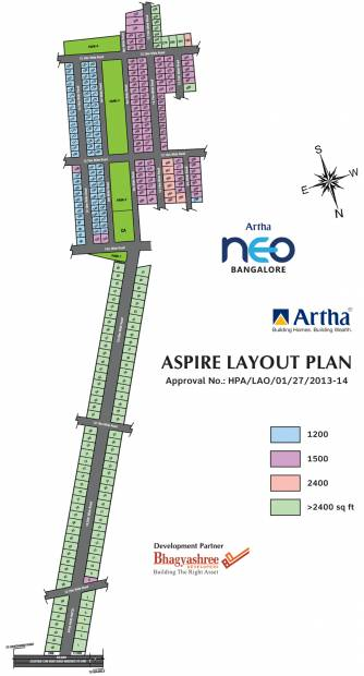 Images for Layout Plan of Artha Aspire