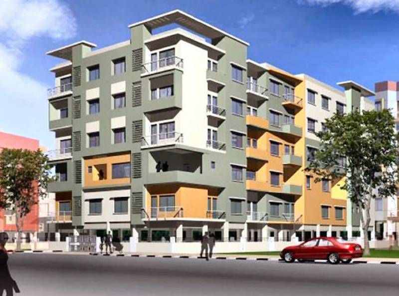 Images for Elevation of ACAS Sapthagiri Residency 7