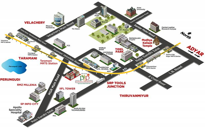 Images for Location Plan of Real Sai Peace And Prosperity