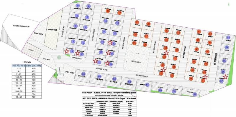 Images for Layout Plan of Keerthi Westwinds