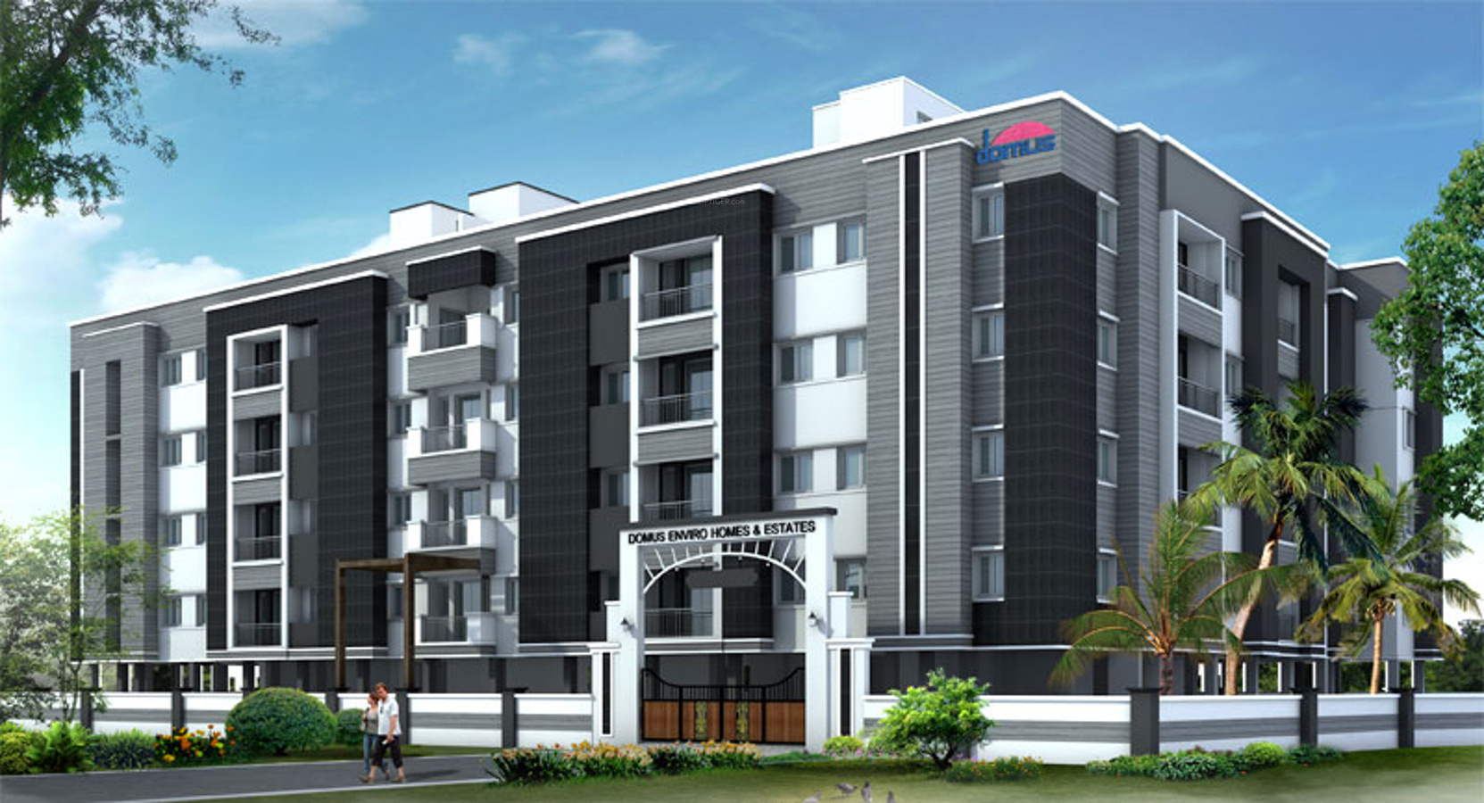 800 sq ft 2 bhk 2t apartment for sale in domus enviro for Enviro homes