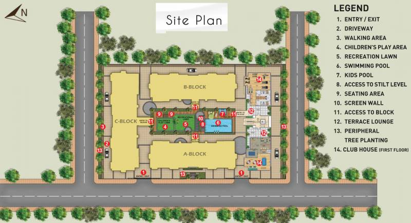 Images for Site Plan of Kolte Patil Mar Esmeralda
