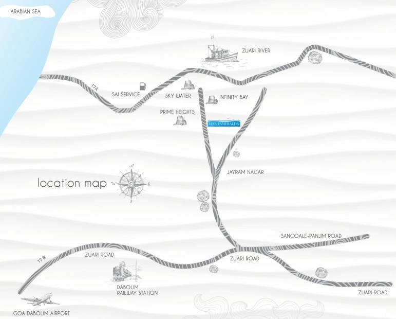 Images for Location Plan of Kolte Patil Mar Esmeralda