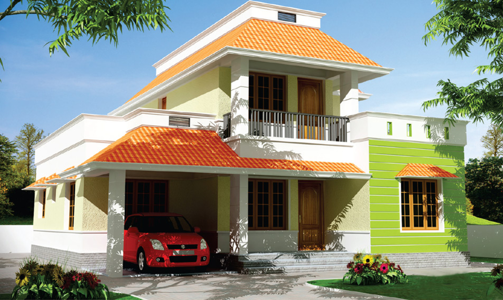 1850 Sq Ft 4 Bhk 5t Villa For Sale In Mgf Builder Classic