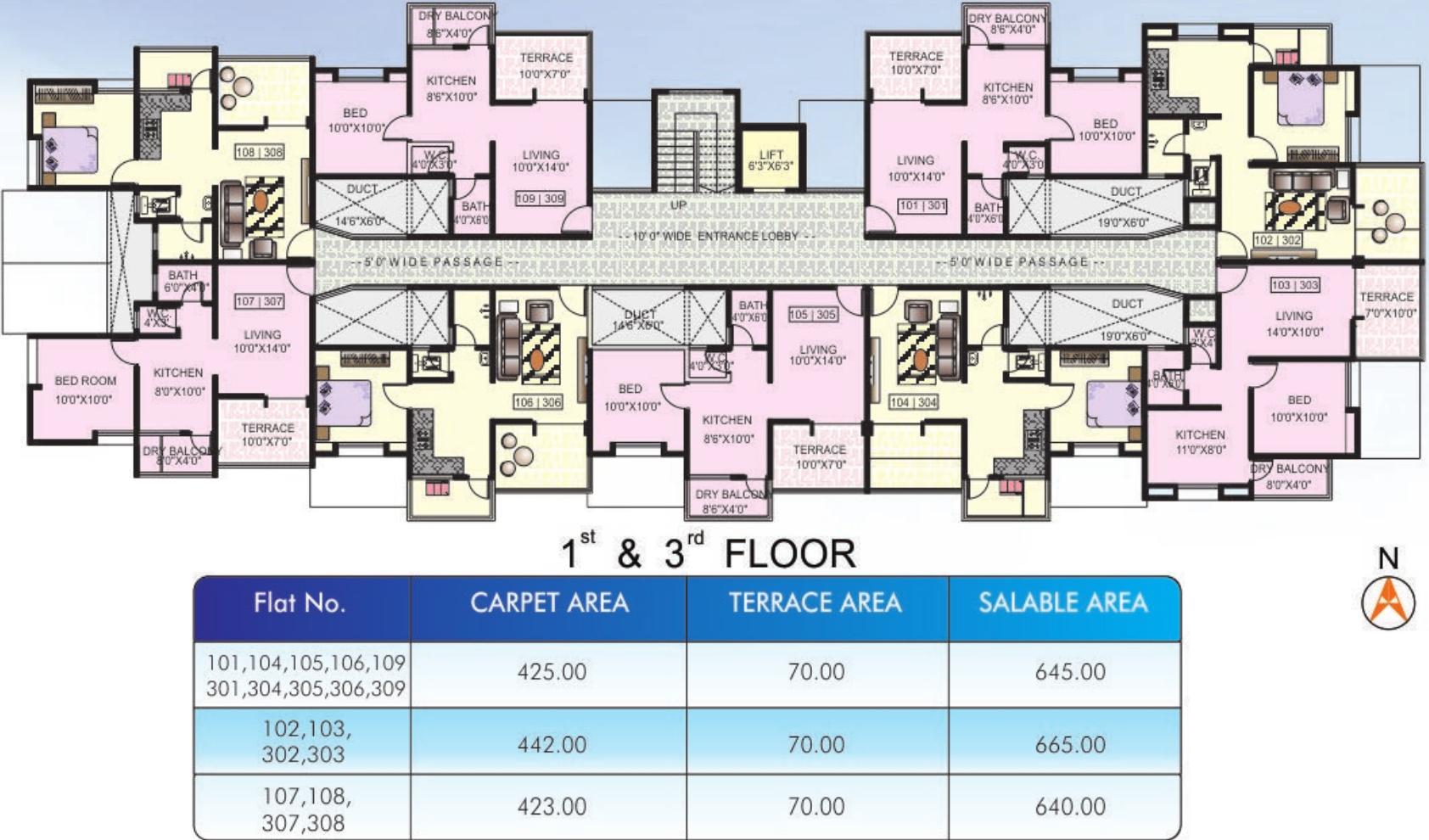 Agrawal post lakeside in wagholi pune price location for Lakeside floor plan