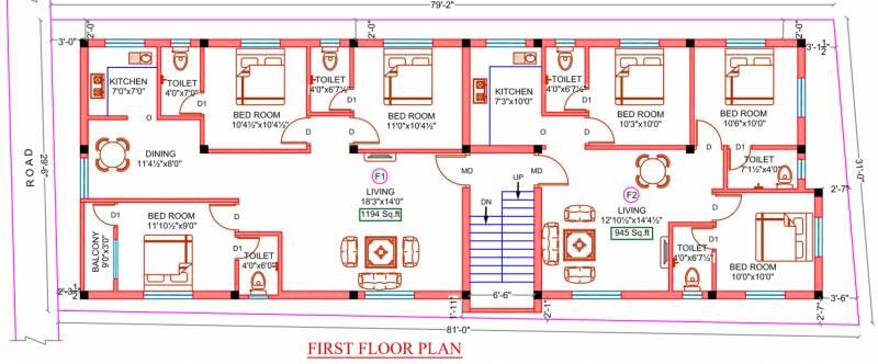 Images for Cluster Plan of Sekaran Palladian