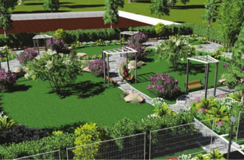 1038 sq ft plot for sale in jupiter commanders tangram 9th for Garden room jupiters