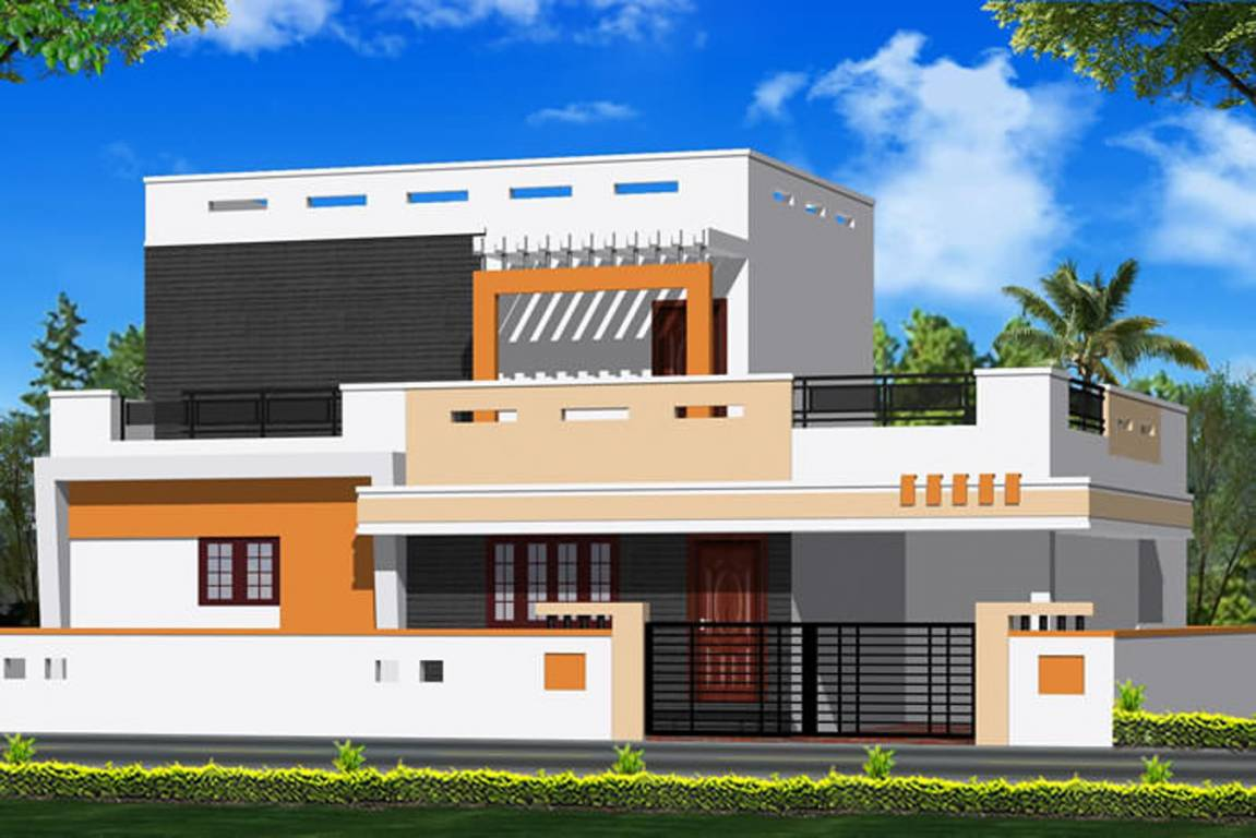 Front Elevation Of House In Coimbatore : Sq ft bhk t villas in jrd realtorss smart homes