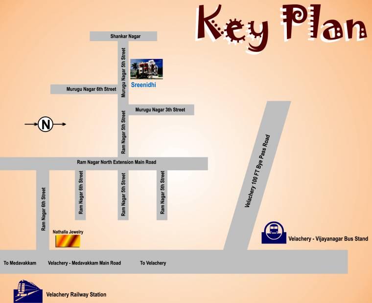 Images for Location Plan of Sri Vishwaksena Sreenidhi