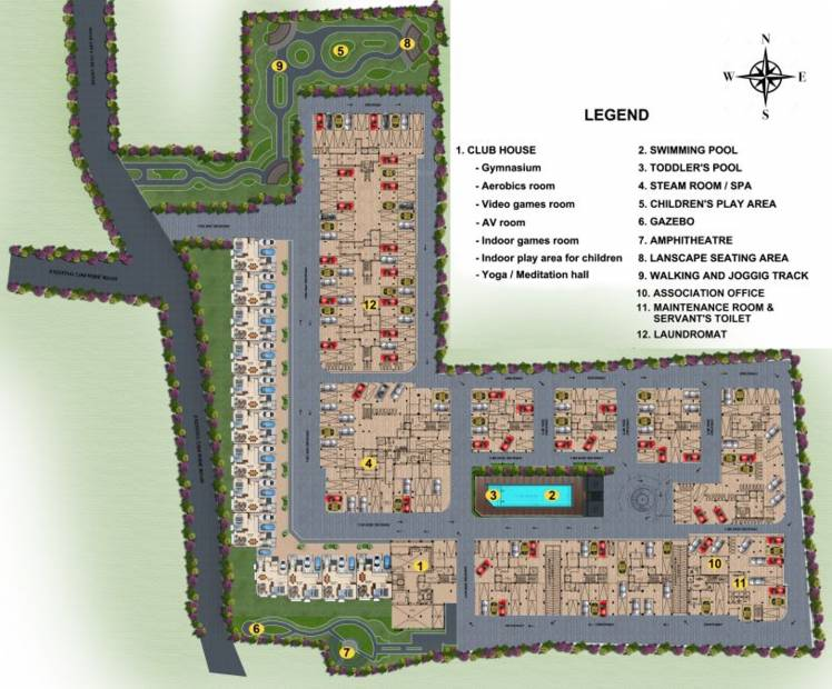 Images for Master Plan of Casagrand Irene