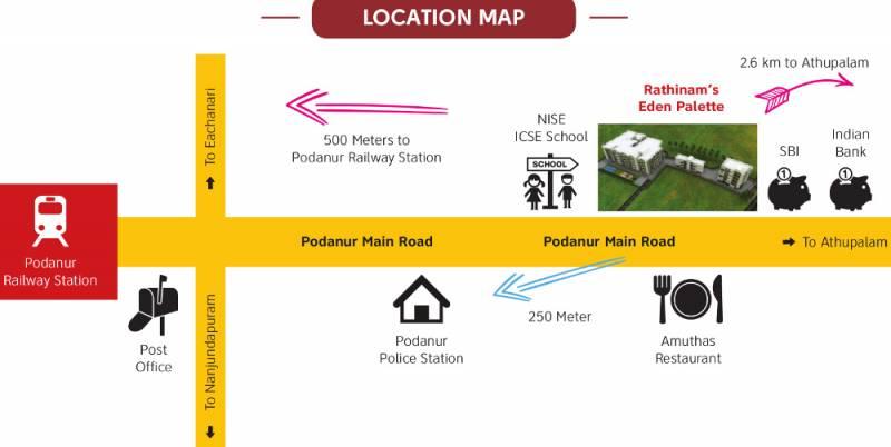 eden-palette Location Plan