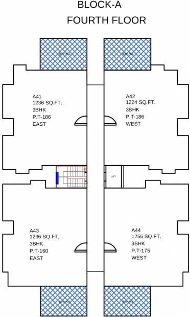 Images for Cluster Plan of Vaikund Trilok