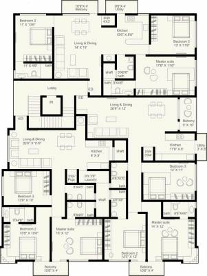 Hiranandani Developers Tribeca 643111 besides Floor Plans additionally 006g 0083 moreover Pool House Plans together with Floor Plans. on 10 unit apartment plans