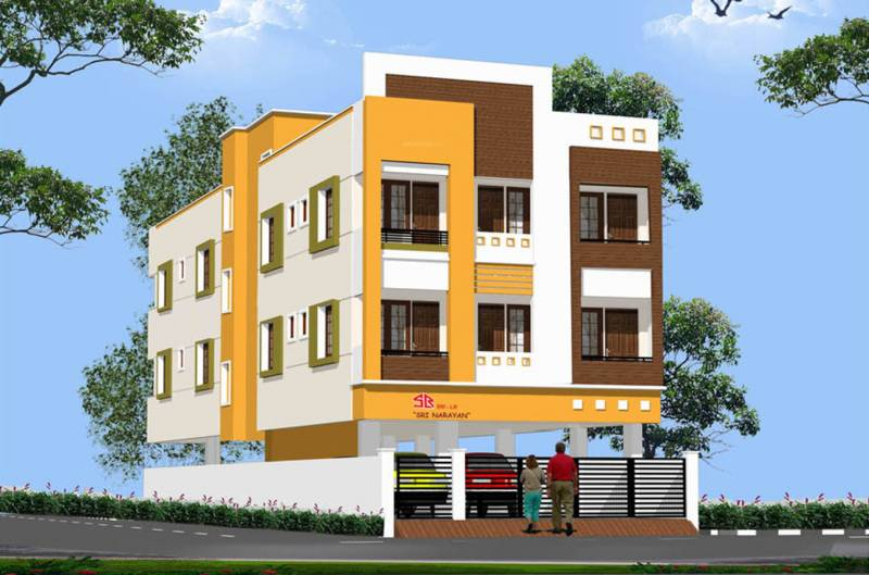 Images for Elevation of Sri Lakshmi Ram Constructions Narayana