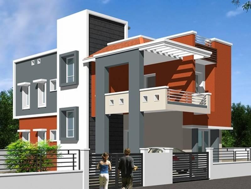 Front Elevation Of House In Kolkata : Main elevation image of kk builders chennai shanthi