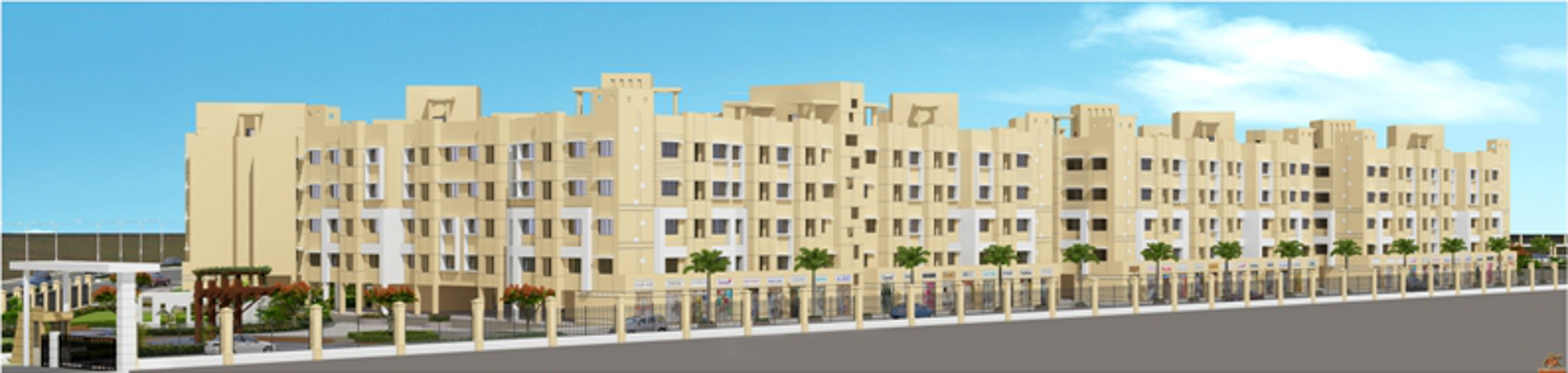 525 sq ft 1 bhk 1t apartment for sale in gundecha woods 525 sq ft apartment