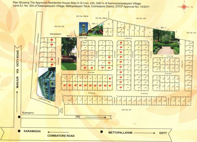 Layout Plan Image of Hindustan Housing Society Government Officers ...