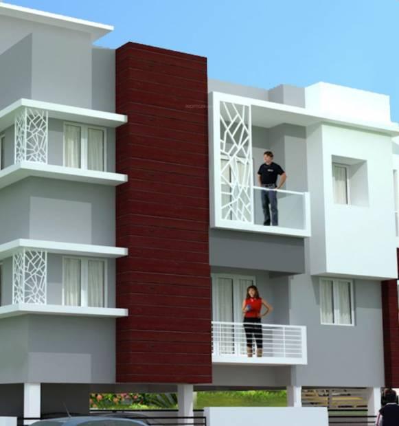 Images for Elevation of KK Builders Chennai Sri Pushpavalli