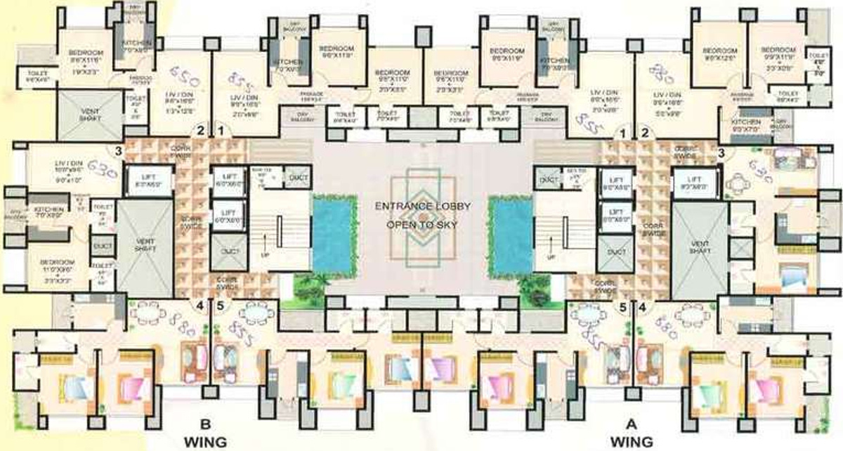 650 sq ft 1 bhk 1t apartment for sale in good build india for Apartment plans in india