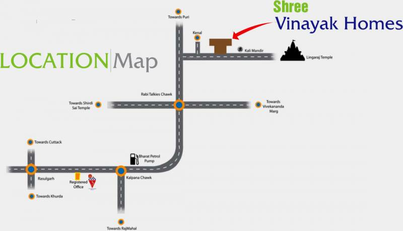 Images for Location Plan of  Shree Vinayak Homes