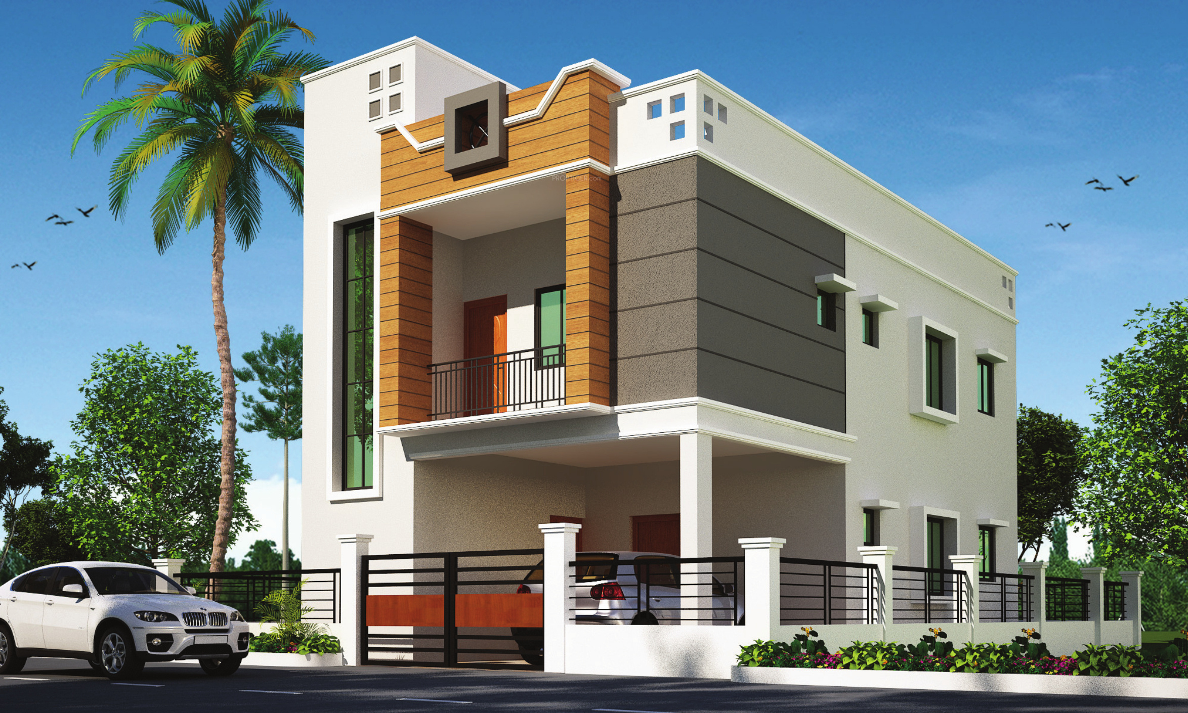 Front Elevation Of Houses In Jodhpur : Main elevation image of shree sidhi vinayak buildcon