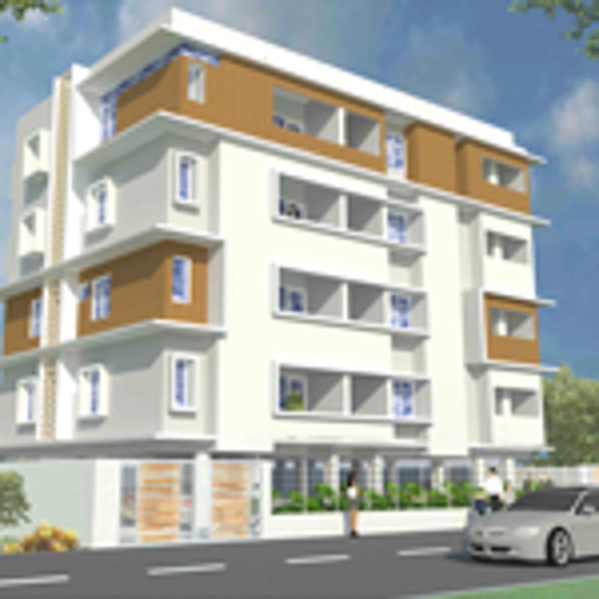 N Home Elevation Zip : Main elevation image of nivasan homes nivasana unit