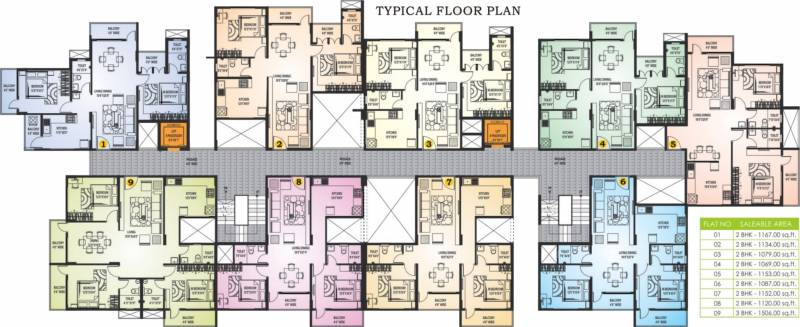 Images for Cluster Plan of Chirag Surya Residency
